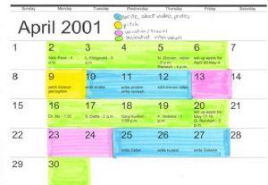 custody calendar