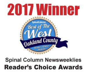 BOW Reader's Choice Award 2017