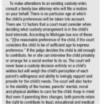 Michigan Custody Answers from Kathryn Wayne-Spindler