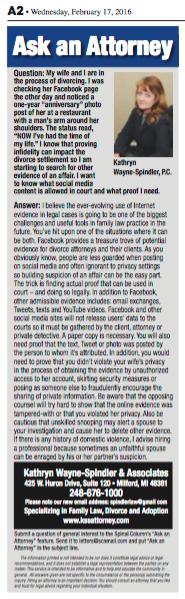 Social Media Evidence