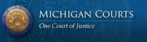 Michigan Courts E-File fee