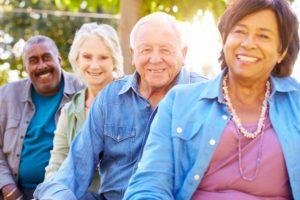 four grandparents smile - Michigan Grandparents Rights